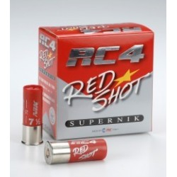 CARTUCHOS RC4 RED SHOT 24GRS