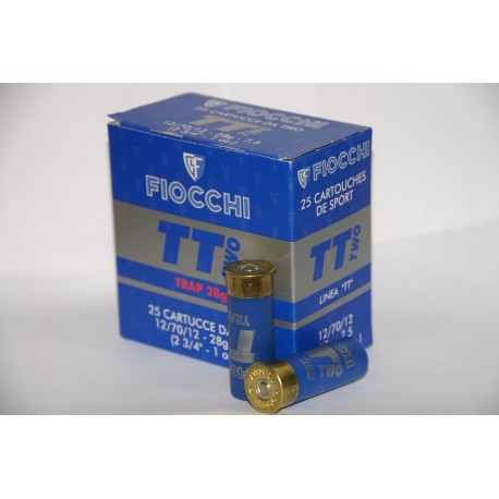 CARTUCHOS FIOCCHI TT TWO 28 GRS